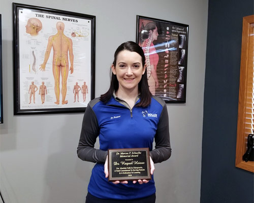 Chiropractor California MO Raquel Heisse